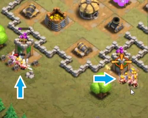 how to get level 2 barbarians in clash of clans